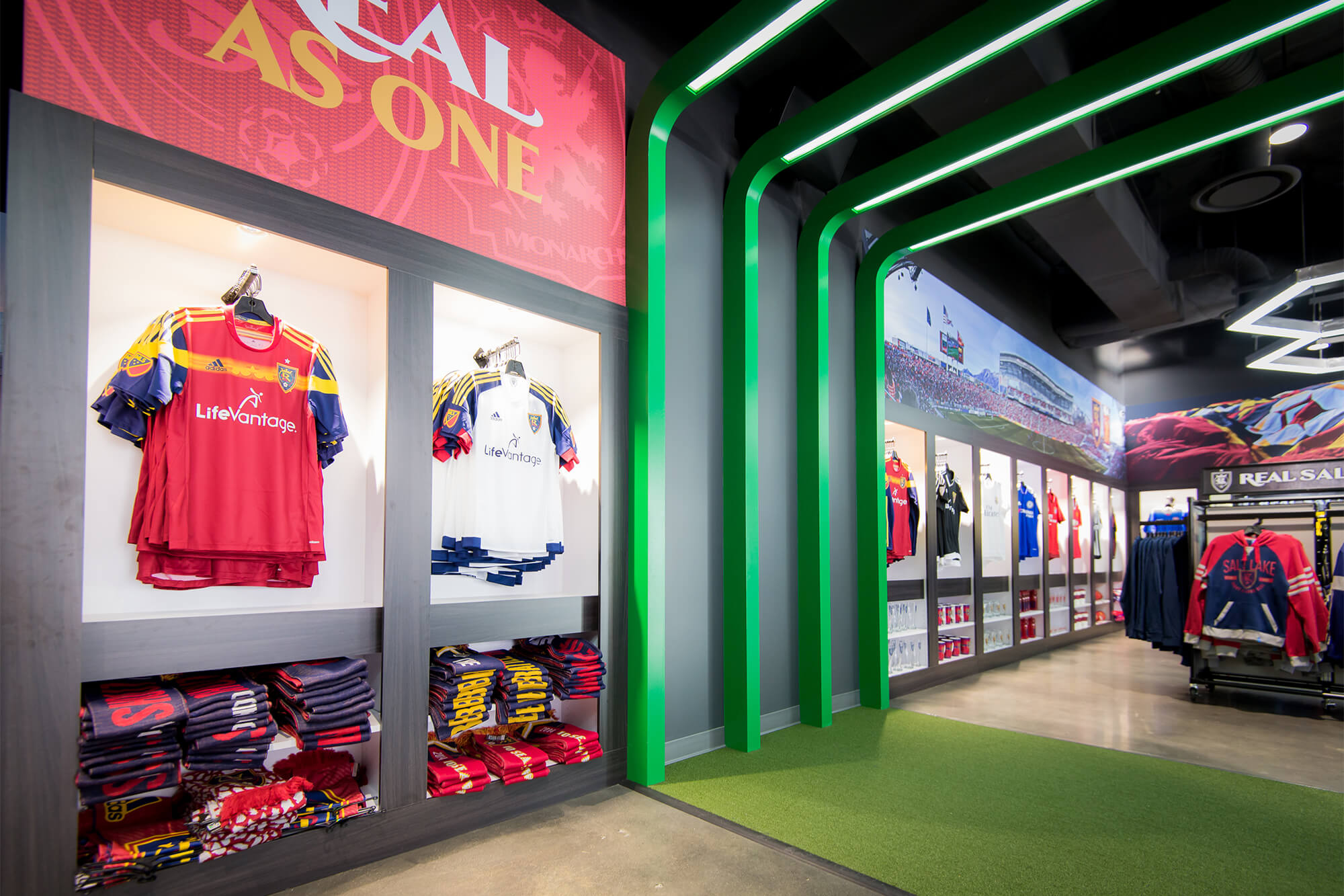 competitive price 95c9a f54a5 RSL Team Store - Beecher Walker Architects